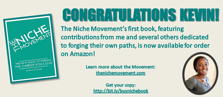 niche movement book announcement