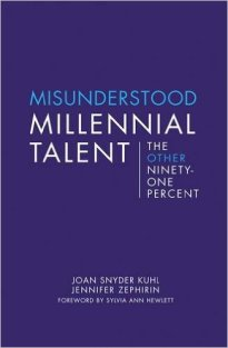 """Books That Will Change How I Work: MISUNDERSTOOD MILLENNIAL TALENT by the Center for Talent Innovation. Those who read my work often enough will recognize that I have a really difficult time with the word 'millennial,' and the derisive mythology that has surrounded it in recent years. I've openly disagreed for years, but had a difficult time articulating precisely why. CTI did it. Identifying that the negative stereotypes apply to a small percentage of the generation. The story for the named other 91%, """"millennials without financial privilege,"""" is wildly different. What they share about this group, including stories of millennials of color, will change the way I frame my work and broadly painted generational stereotypes."""