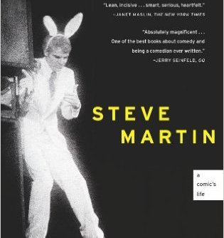 Born Standing Up by Steve Martin | I continue to share with folks that this memoir is my gold standard in its particular subgenre. Martin writes beautifully about how he decided to be a stand-up comedian, as well as the decision to walk away from it at his height of fame. Leadership books are packed with advice about commitment, structured paths, calling and dedication. While all of these things are valuable and important, there is space to forge your own path- and to deviate from that path when you need to. Born Standing Up makes that case, in beautiful prose to boot. Share this one with students who are feeling at a crossroads, perhaps apprehensive about changing paths.