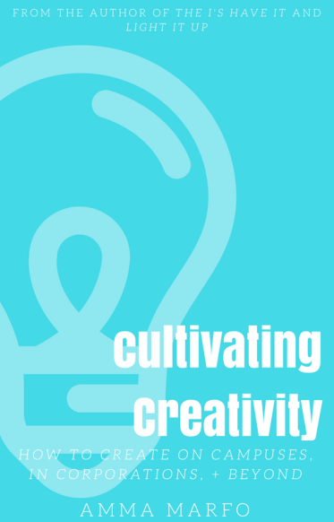 Cultivating Creativity cover- lightbulb silhouette