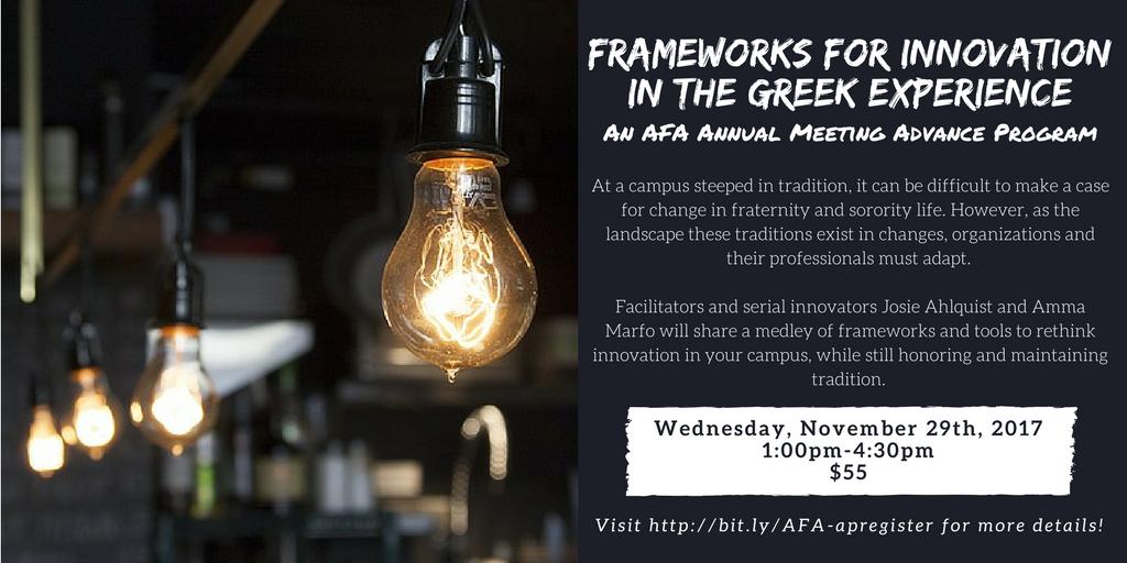 Frameworks for Innovation v1