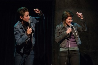 "Rhea Butcher on the Back to Back Tour (iTunes): sadly, this year marked the end of Butcher and Cameron Esposito's Seeso show ""Take My Wife,"" but I am pleased they took the show on the road. After riffing together for a shared set, each comic got their own set. Butcher's, in particular, impressively addressed our current political climate without being preachy, and detailed their struggles with gender dynamics in society in a way that felt emotional and hilarious at once. The special is now available on iTunes, so go get it if you missed their tour stops!"