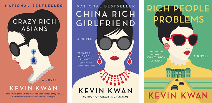 So yes. This is three books. But they were a trio of fun reads that showed a family of protagonists unlike anyone I'd ever read before. The first book, Crazy Rich Asians, will be released as a film next fall, and I am immeasurably excited to see it come to life. The feat it achieves in changing how Asians are represented in literature is considerable, and as someone who often doesn't make time for fiction, these books held my attention and made me smile many times over.