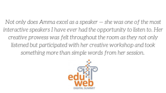 2019 eduWeb Digital Summit Testimonial