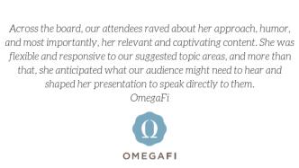 2019 OmegaFi Testimonial