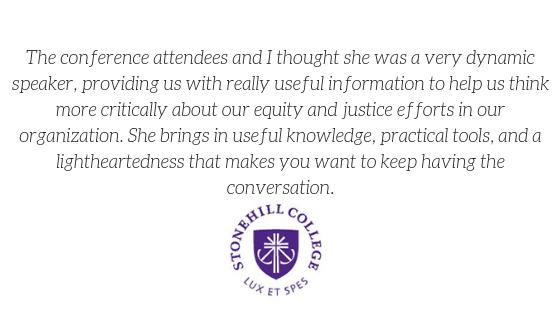 2019 stonehill college testimonial