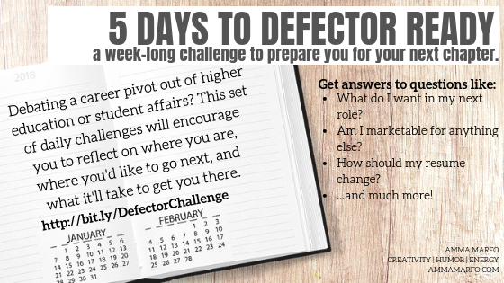 5 Days to Defector Ready Promo